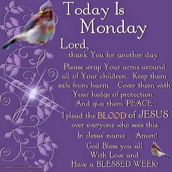 Have A Blessed Monday Images Soaknowledge